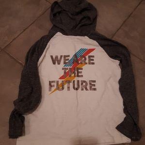 Old Navy tshirt logo hoodie